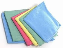 clean microfiber cloth,
