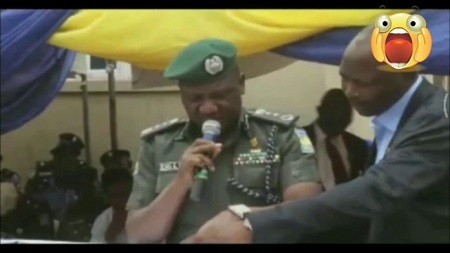 IGP Idris Reacts To Viral Video Of Fumbled Speech Trending On Social Media