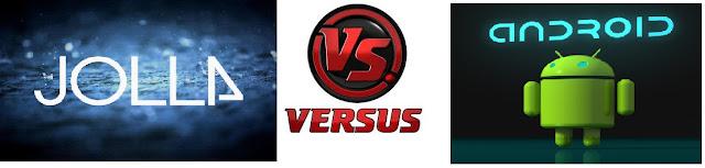 Jolla Sailfish vs Android