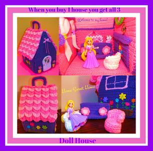 Crochet dolls | Etsy | 301x306