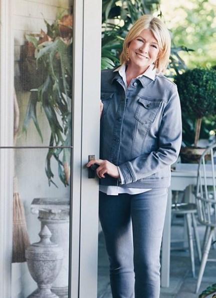 Pas du tout. Elle n'était là, en fait, que pour une ligne très sympa de  vêtements en jeans. Et c'est regrettable parce qu'en plus, la porte-fenêtre  était ...