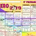"""CALENDARIO MATEMÁTICO """"Febrero"""" 5° PRIMARIA CICLO ESCOLAR 2018-2019."""