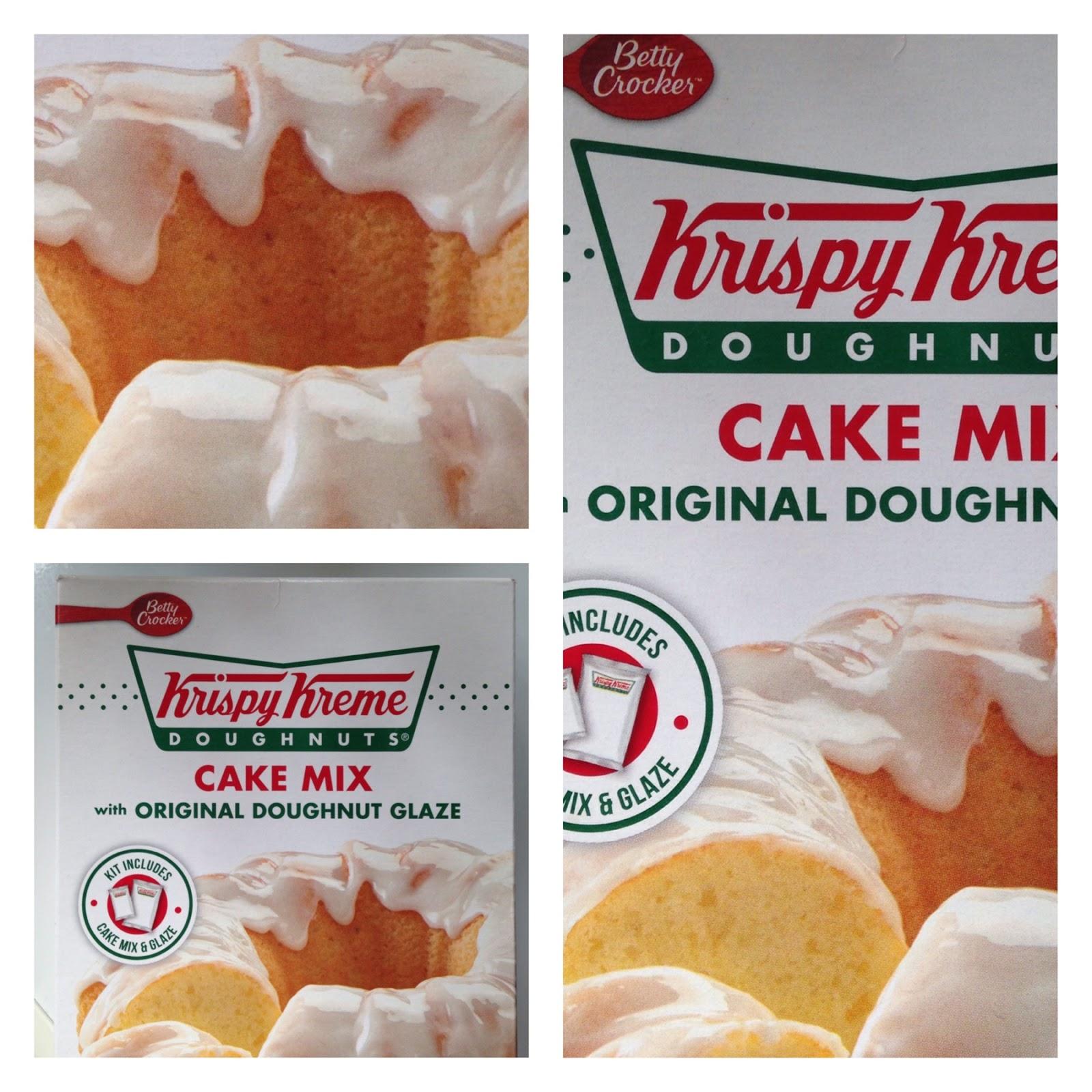 Recipes Using Krispy Kreme Cake Mix