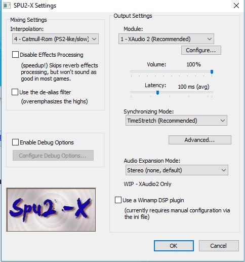 Setting Audio