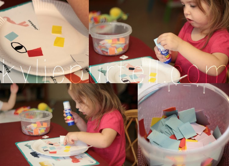 rainbow fish book craft ideas