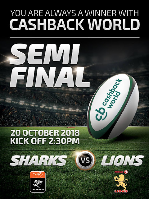 The Sharks vs. Lions, Cashback World