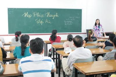 họp cha mẹ học sinh