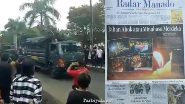 Teriak-Teriak Tuntut Referendum, Tiba-Tiba Begini Sikap Ahoker Saat TNI Lewat