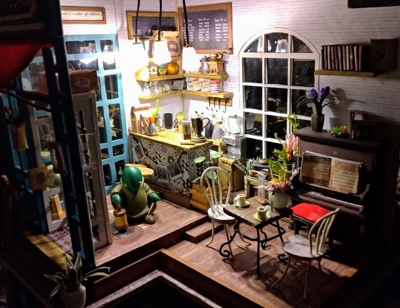 賽門的時光咖啡店夜景