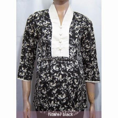 Model Baju Hamil Batik Kerja Trendy