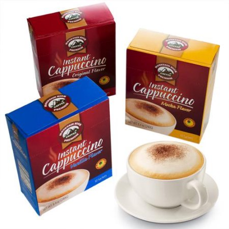 does instant cappuccino have