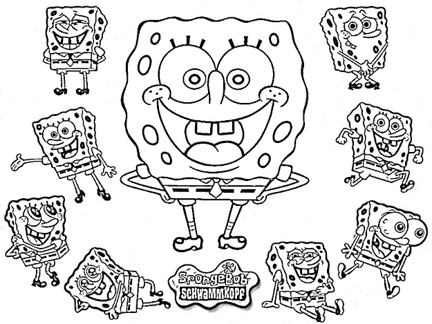 Coloring Pages Of Spongebob Trend With Photos Of Coloring Pages