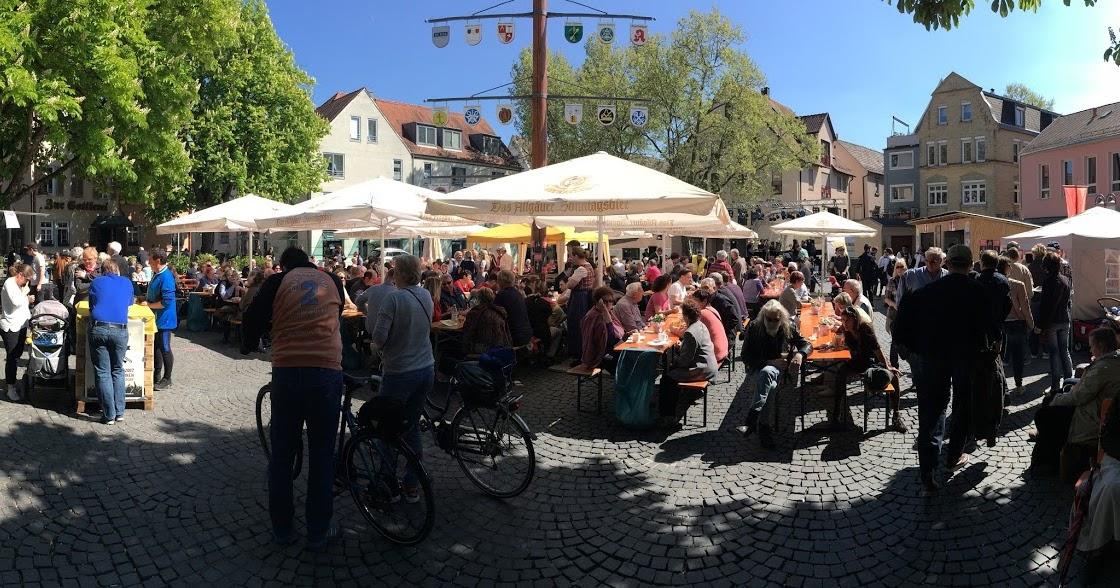 Stadtfest Und Topfermarkt Kremplinghaus