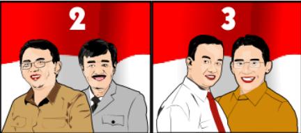 Hasil Quick Count Pilkada DKI Jakarta 2017 Putaran Kedua