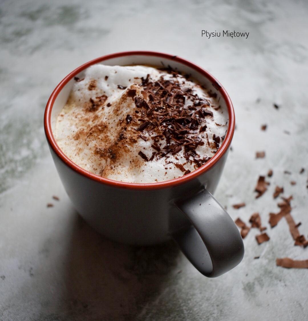 dynia, latte, ptysiu mietowy