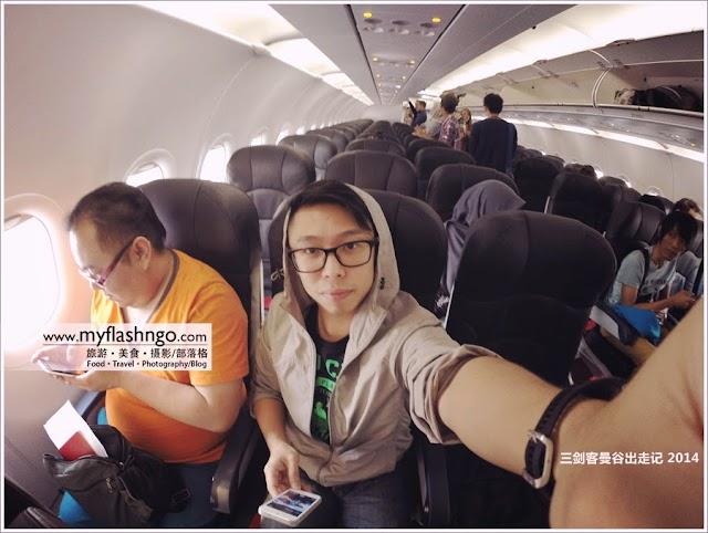 2014 | 三剑客曼谷出走记 (之) 到达曼谷!2