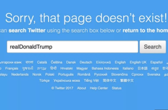 Finally, President Trump reacts to his twitter account that was shut down for 11-minutes