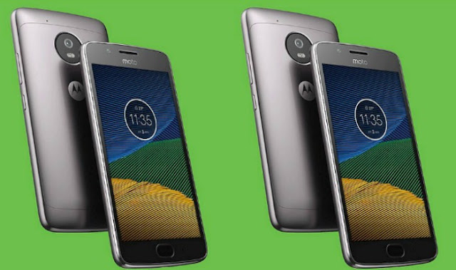 Moto G5S Appearance that Showcases Dual Camera