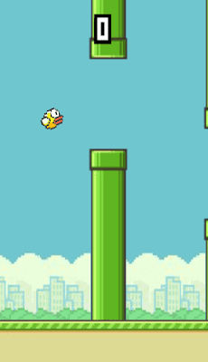 Flappy Bird Flash - Image du Jeu