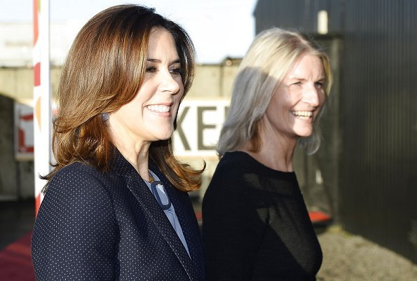 Crown Princess Mary Massimo Dutti Tiny polka dotjacket Mary Foundation Red Barnet Save the Children