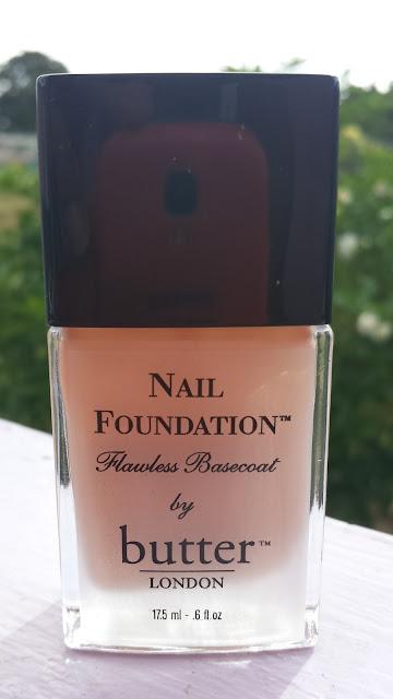 Butter London Nail Foundation www.modenmakeup.com