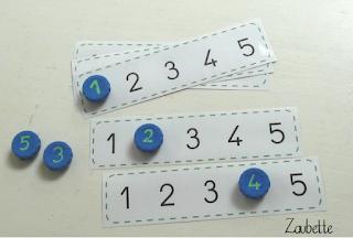 Suite de nombres avec des bouchons