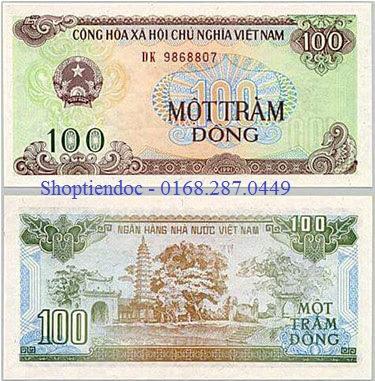 Tiền 100 đồng cũ năm 1991