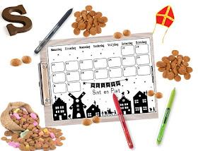 Sinterklaas aftelkalender gratis, gratis aftelkalender sinterklaas, sinterklaas kalender, schoenzet kalender, kalender schoenzetten, kalender voor sinterklaas, aftellen naar pakjesavond