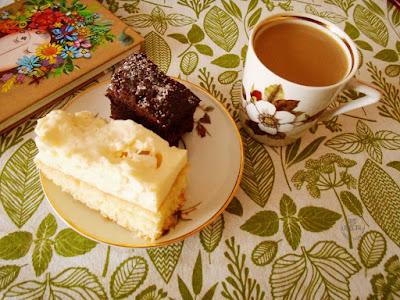 ciasto i kawa