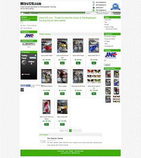Website Toko Online Pusat Accessoris Motor Dan Perlengkapan Touring | Mitra128 | mitra128.com | FajarPunya | www.fajarpunya.com author