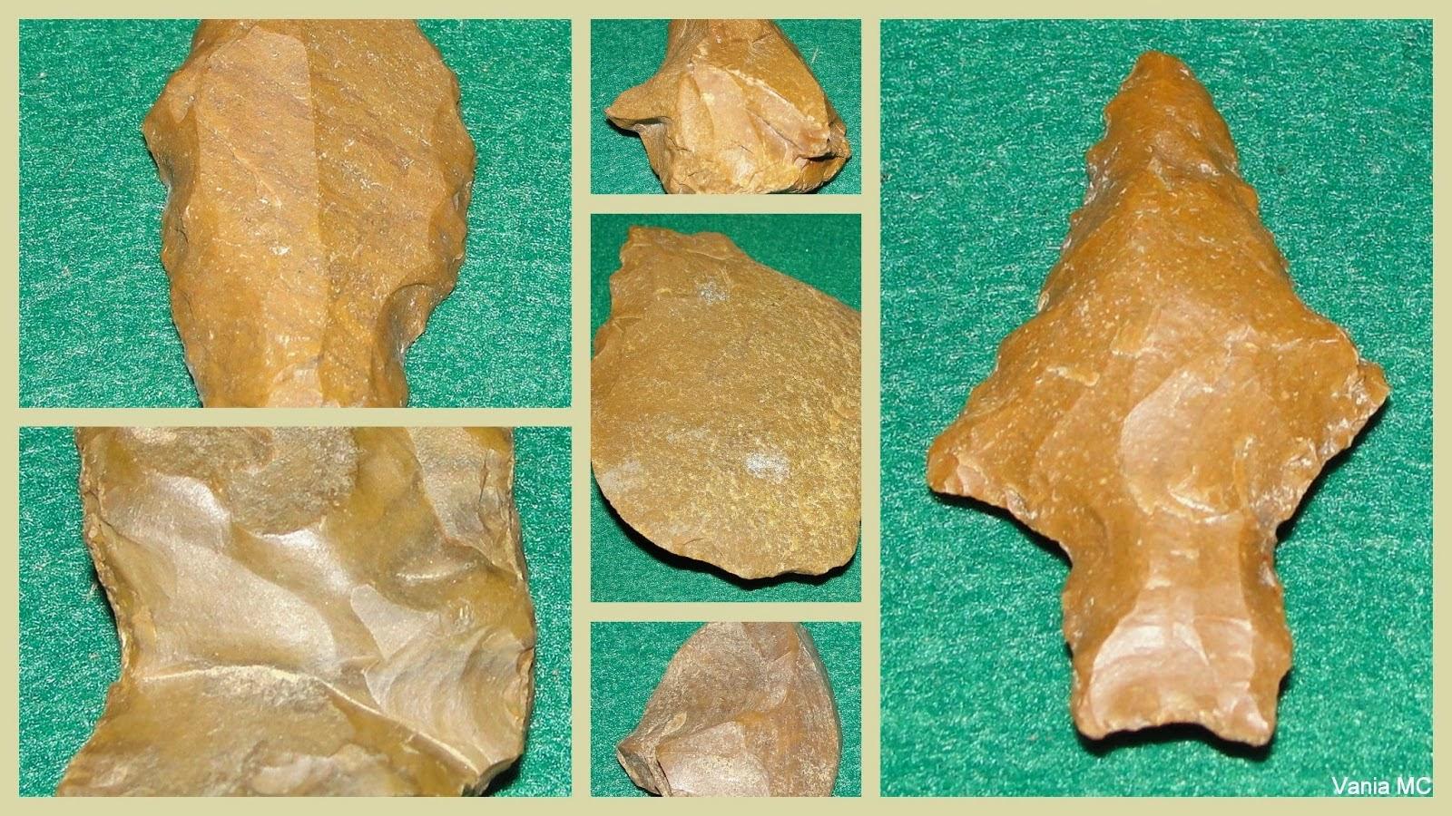 Cerâmica e artefatos líticos