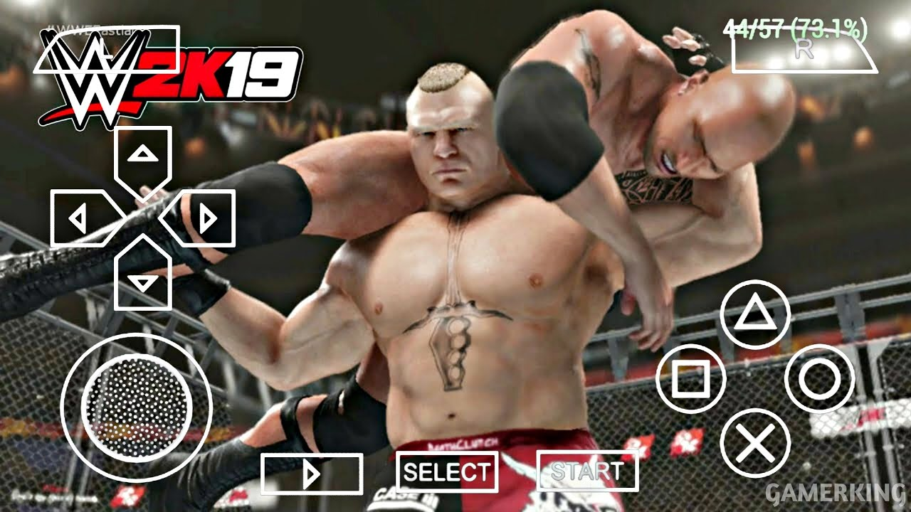 How To Download WWE 2k19 Mod for all Stars PSP Game For