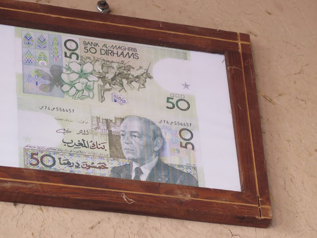 Billete 50 Dirhams Hassan II
