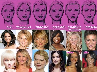 Entre os diversos tipos de cortes de cabelo, há sempre um modelo e  comprimento certo para acentuar ou amenizar os traços e valorizar o rosto. b8d9297e3e