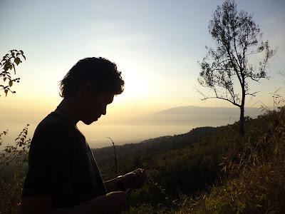 Sunrise Gunung Arjuna