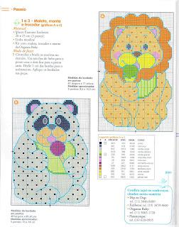 gráficos ursinho e elefante