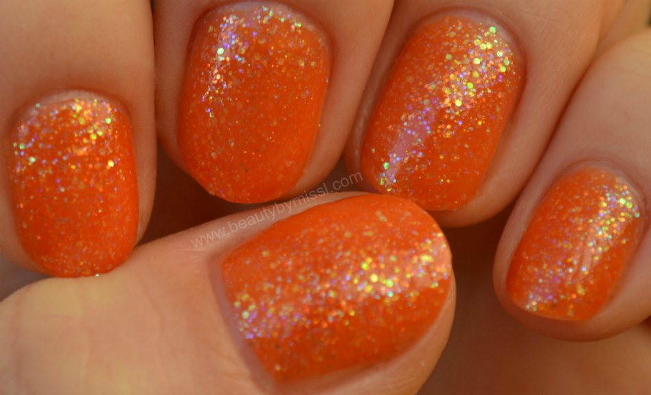 China Glaze Dreamsicle, swatches, manicure, notd,