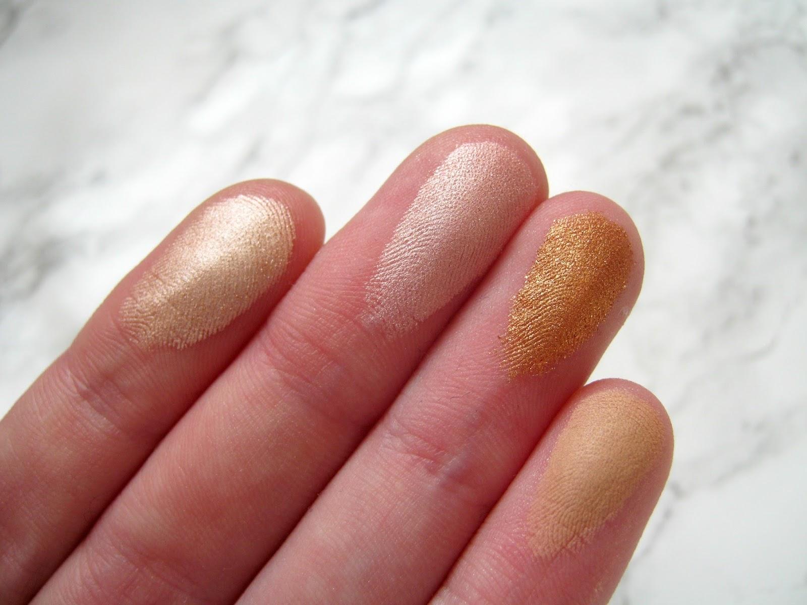 Makeup Revolution Golden Sugar 2 Rose Gold Blush Palette | Review ...