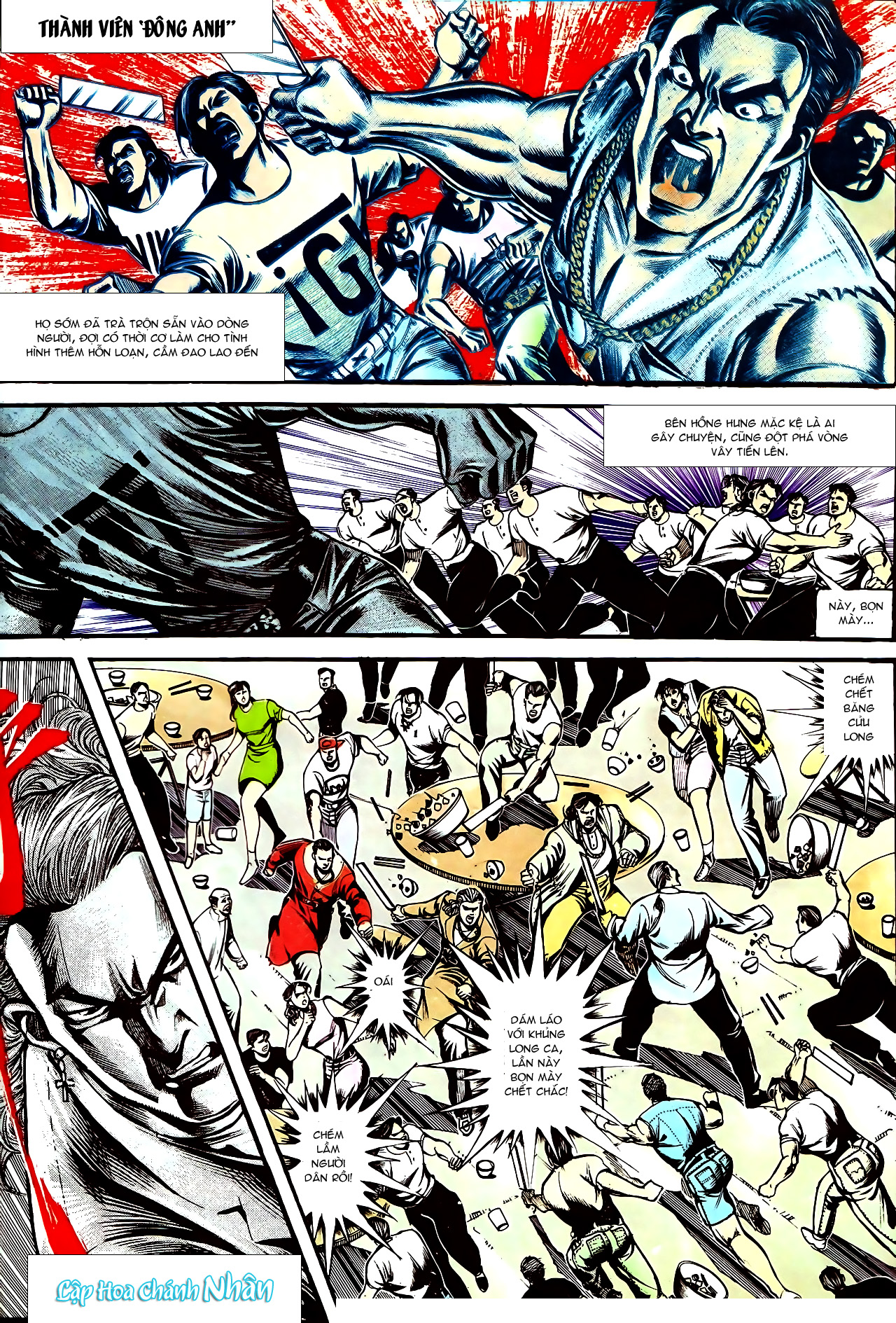 Người Trong Giang Hồ chapter 160: chém đại phi trang 6