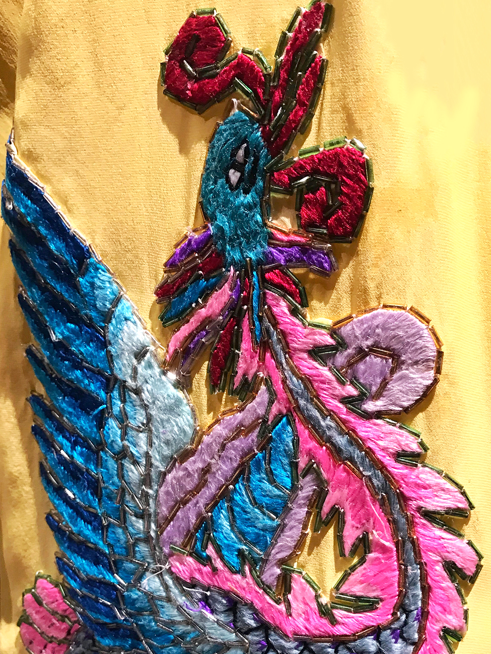 China National Peking Opera Company embroidered silk costumes & backstage tour at Sadler's Wells, October 2018 - London culture blog