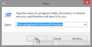 Gambar 2 - Cara Mengembalikan Start Screen Windows 8/8.1 ke Keadaan Awal