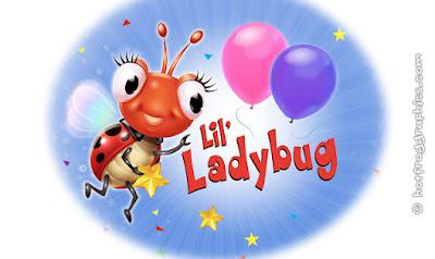 graphic showing logo for Lil Ladybug range