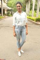 Rakul Preet Singh in Jeans and White Shirt At Jaya Janaki Nayaka le Logo Launch ~  Exclusive 001.JPG