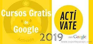 Cursos de Google 2019 ¡ACTIVATE! Formación + Certificado GRATIS