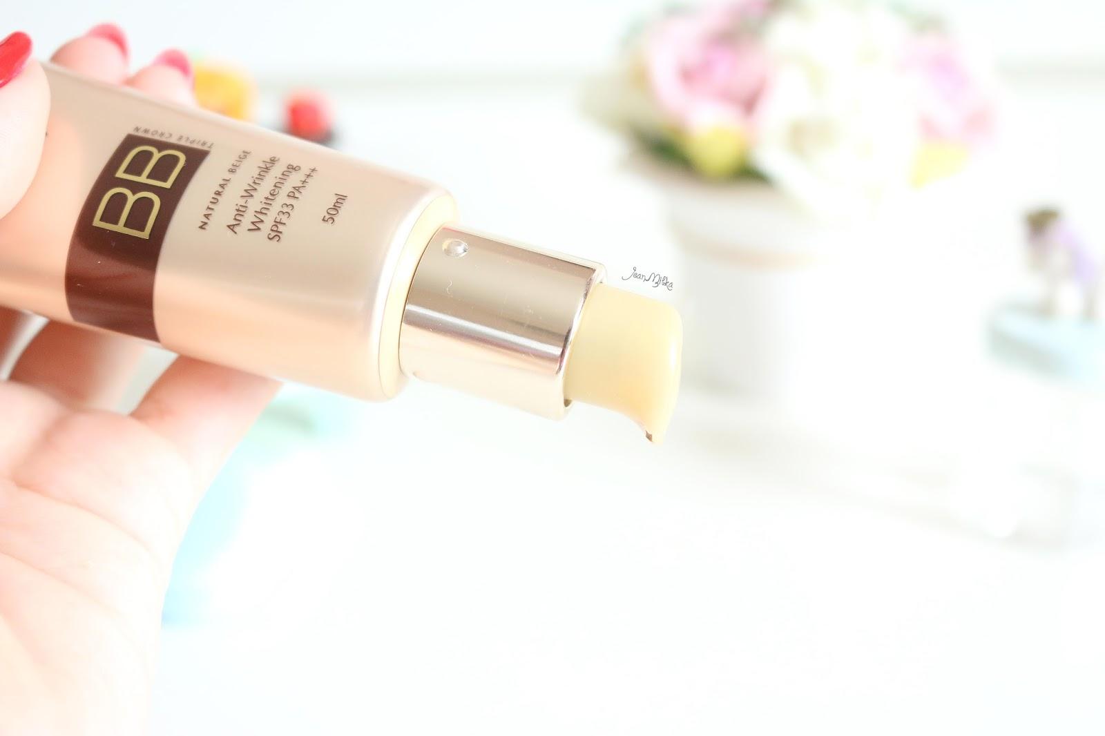sarange, bb cream, sarange triple crown bb cream, korean makeup, makeup, review, sarange id