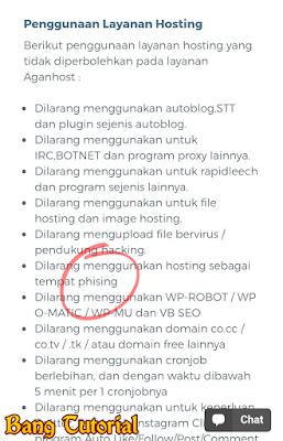 Penyedia Hosting Gratis di Indonesia Melarang Membuat Phising