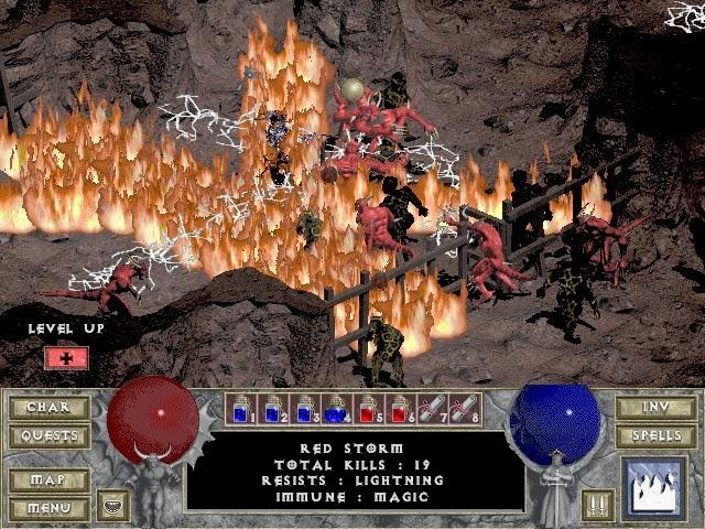 Diablo 1 PC Games Gameplay