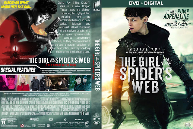 The Girl in the Spider's Web DVD Cover