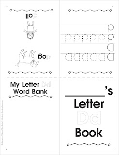 Have Fun Learning English: The letter D
