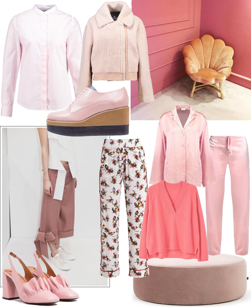 Shopping, WIshlist, La Perla, Jil Sander, Designers Remix, Baum und Pferdgarten, Mango, TopShop, pink, trend